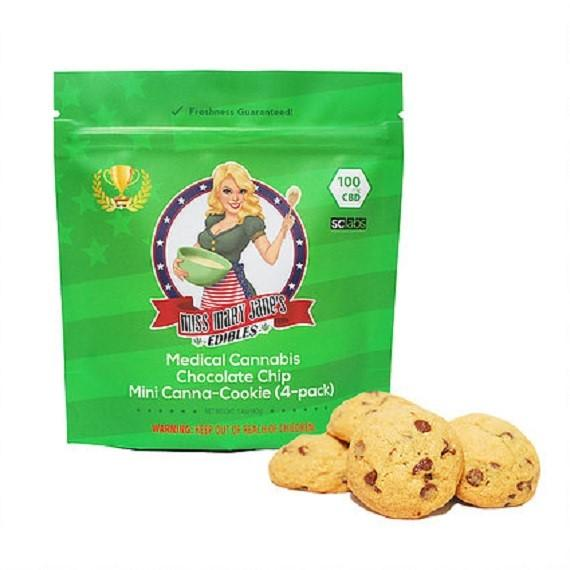 100 MG CBD CHOCOLATE CHIP COOKIE (4-PACK)